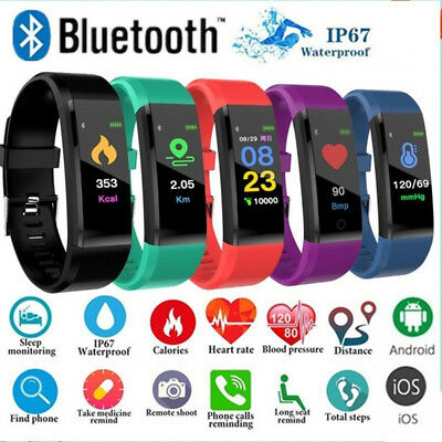 Smart Watch Sport monntre Fitness Tracker cardiaque imperméable moniteur Fitbit