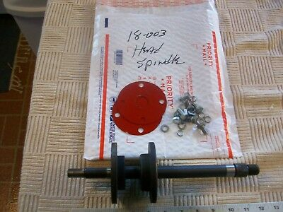"Headstock Spindle Assembly From 14"" Bench Pro Wood Lathe with 2 3/4"" Bed Gap"