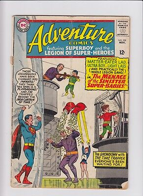 Adventure Comics Superboy Legion Of Super-Heroes 338 G/VG CHEAP 60s DC Silver