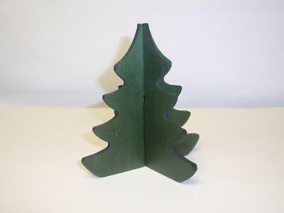 """Longaberger WOODCRAFT 3D """"LARGE CHRISTMAS TREE """"  In SAGE. NEW!!!"""