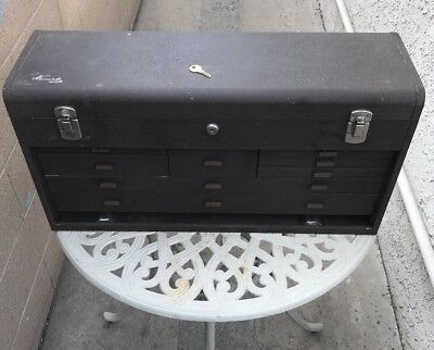 Kennedy Model 526 Large 8 Drawer Machinist Tool Box With Key