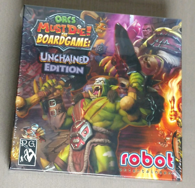 Orcs Must Die! The Board Game: Unchained Edition Petersen Games robot NEW!!!