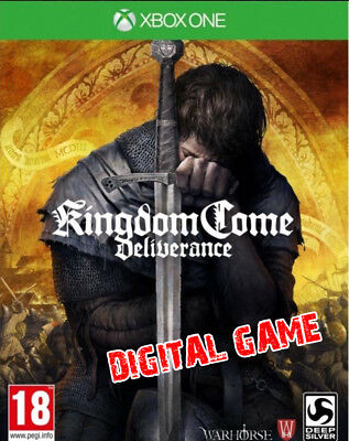 KINGDOM COME DELIVERANCE XBOX ONE (read description)