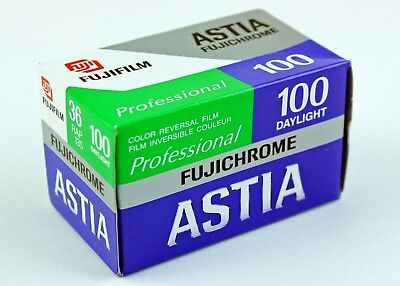 193852  One Roll *EXPIRED* Fujichrome Astia Color Slide Film 35mm-36 Exposures