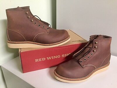 7d46b2842c4 FIRST 9D RED Wing Heritage Boots Lineman 2997 Olive Maroon Mohave ...