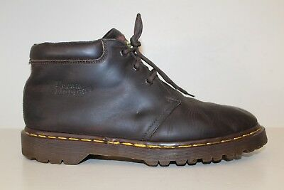 Dr Martens Mens Ankle Boot Sz 12 US / 11 UK / 46 EU Brown Leather Chukka England