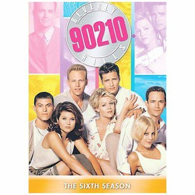 BEVERLY HILLS 90210 - Season 6 PAL REGION 4 DVD Set Complete Sixth Series Six