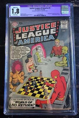 Justice League Of America #1 CGC 1.8 1st Appearance Despero