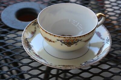 Excellent conditionTheodore Haviland Limoges France Pomona cup and saucer set