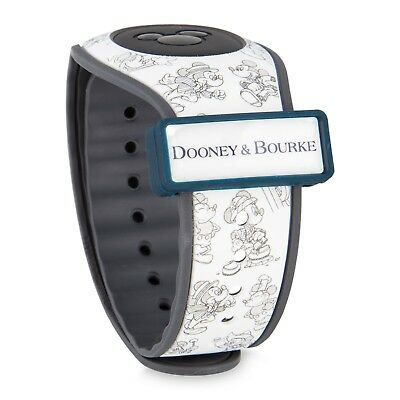 NEW Disney Dooney & Bourke Mickey Mouse 90th Birthday Magicband Magic Band LR