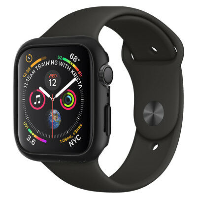 Apple Watch Series 4 (40mm,44mm) Spigen® [Thin Fit] Slim Protective Cover Case