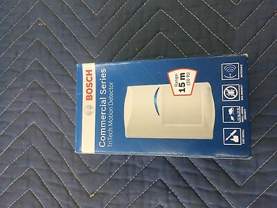 New Bosch Tri-Tech Commercial Motion Detector ISC-CDL1-W15G