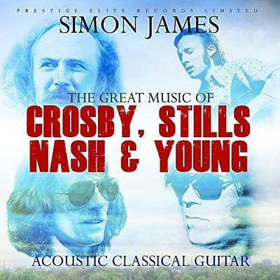 Simon James-The Great Music Of Crosby,Stills,Nash & Young (Uk Import) Cd New