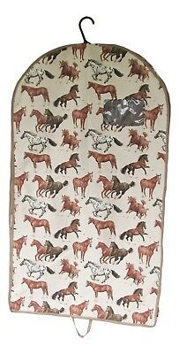 Running Horse Tapestry Garment Bag - Clothes Storage - Travel