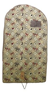 Equestrian Sport Horse Tapestry Garment Bag - Clothes Storage - Travel