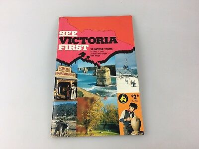 See Victoria First Tourist Brochure - In Klm - Possibly 1980's