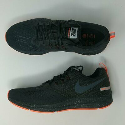 6c99a523da741 Nike Zoom Winflo 4 Shield Sneakers 921704 001 Men s Size 10.5 Water Repel  New