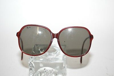 VINTAGE RAY BAN Rituals Bausch   Lomb Black Metal Oval Sunglasses ... 7969bcd21625