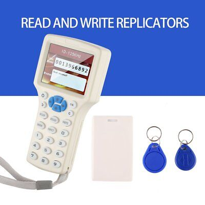 RFID Copier ID/IC Card Reader/Writer IC ID HID & All 125kHz Smart Cards HA