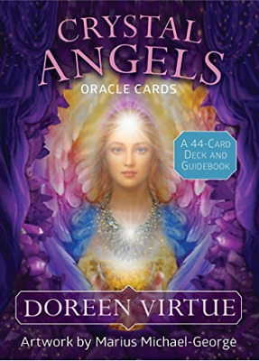 Virtue Doreen/ Michael-Geor...-Crystal Angels Oracle Cards (UK IMPORT) ACC NEW