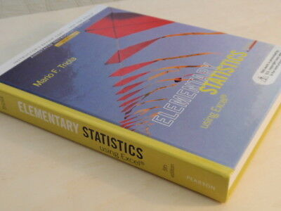 Elementary Statistics Using Excel by Mario F. Triola (2013, Hardcover)