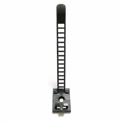 Cable Clips 10Pcs Self-Adhesive Cable Clamps Straps With Optional Screw Mount