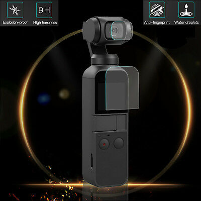 9H Clear Camera Tempered Glass Screen Protector +Lens Film For DJI OSMO Pocket