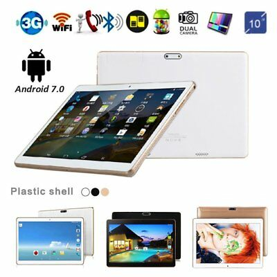 "10.1"" Inch Tablet PC Android 7.0 Wifi 4GB + 64GB Octa-core Dual SIM Camera GPS"