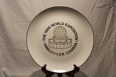 The 1986 World Exposition Collector Plate Vancouver Canada