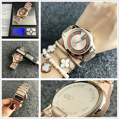 New Men Woman Simple Business Watch Round Stainless Steel Quartz Wrist Watch