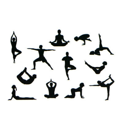 DIY Yoga Countryside Silhouette Cake Cookie Biscuit Cheese Mold Cut Supplies CB