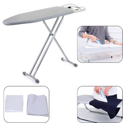 Universal silver coated ironing board cover & 4mm pad thick reflect heat 2 sizes