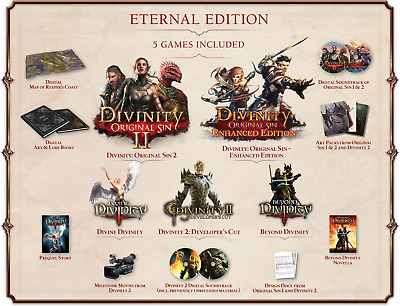 Divinity: Original Sin II (2)  Eternal Edition (5in1) + No Man's sky STEAM PC