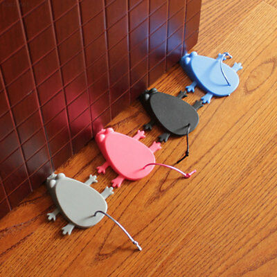 9BB6 12*10*1.5CM Door Clip Floor Stop Baby Safety Home Security Door Stop