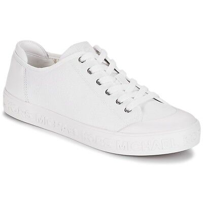 Sneakers Scarpe donna MICHAEL Michael Kors CARTER LACE UP Bianco Bianco. 372c137ba96