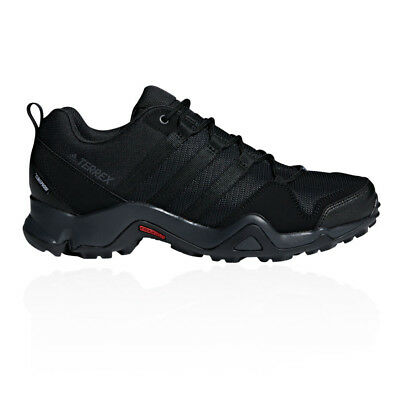 adidas Mens Terrex AX2 CP Hiking Shoes Black Sports Outdoors Water Resistant
