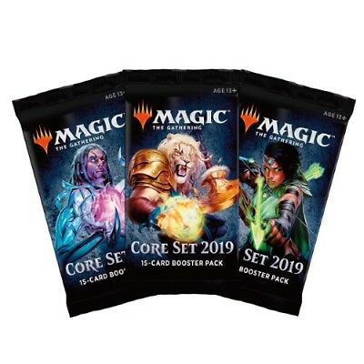 Core Set 2019 Sealed Booster Pack M19 - MTG Magic the Gathering