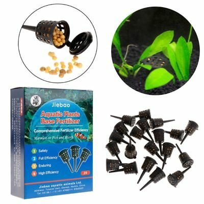 1 Box Aquarium Plant Fertilizer Fish Tank Nutrition Supplement Root Grass Seeds