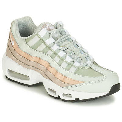 separation shoes 92a59 6f1dc Sneakers Scarpe donna Nike AIR MAX 95 W Bianco Bianco Cuoio 8153394