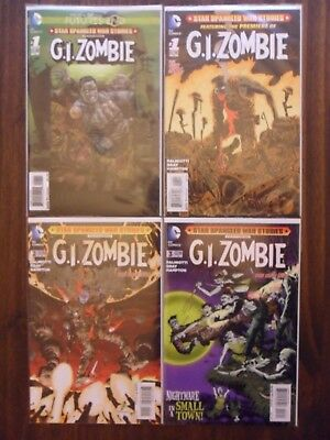 G. I. Zombie - The New 52  # 1 - # 3 + 1 One-Shot, USA
