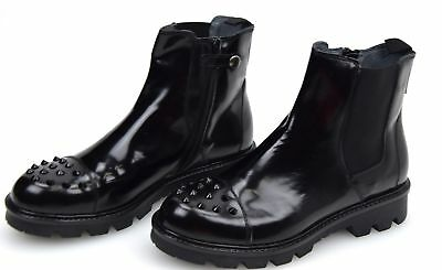 LIU-JO JUNIOR GIRL WOMAN ANKLE BOOTS BOOTIES WINTER GENUINE LEATHER CODE B22675