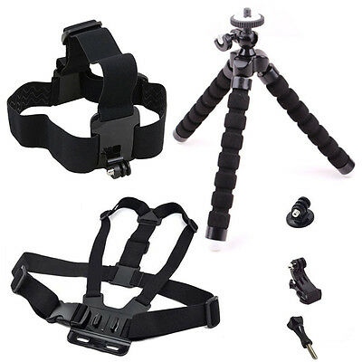 4K Action Camera Accessories Set for Gopro Hero7 6 5 4 3 SJCAM SJ4000 Xiaomi Yi