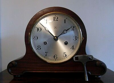 Vintage Junghans HAC Rack Strike Art Deco Mantel Clock -  Serviced & Very Fine