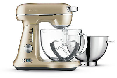 Pay $422* NEW Breville BEM825RCH the Bakery Boss™ Mixer Royal Champagne RRP$749