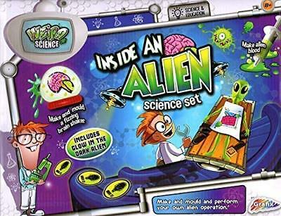 Grafix Inside An Alien Science Experiments Set Brand New