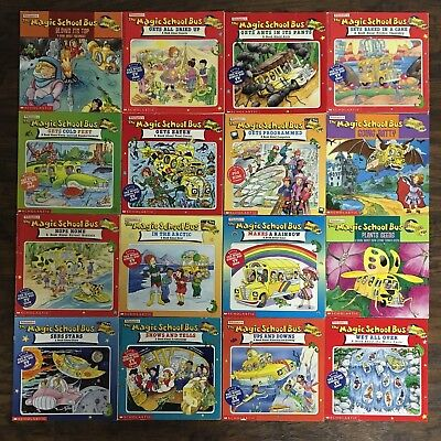 Lot 41 Magic School Bus Books Collection Picture Storybooks