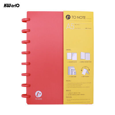 A5 Loose Leaf Paper Notebook Notepad Diary Journal Memo Office Stationery B1B4
