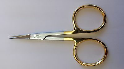 "4 1/2"" TERRA ""MICRO TIP  "" just like dr.slick  fly tying scissor  FREE SHIPPING"