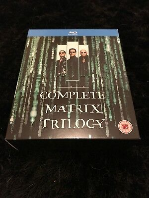 The Matrix/Matrix Reloaded/Matrix Revolutions Blu-ray, 3-Disc Set