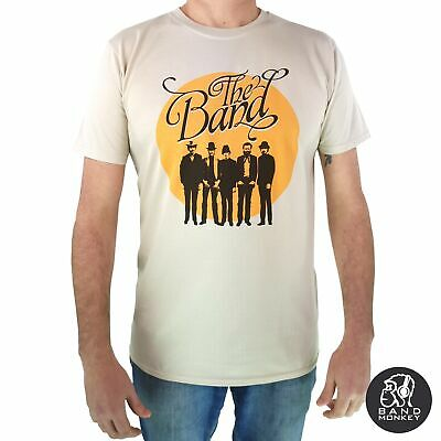 The Band - Mens Sand T Shirt Circle Logo Official